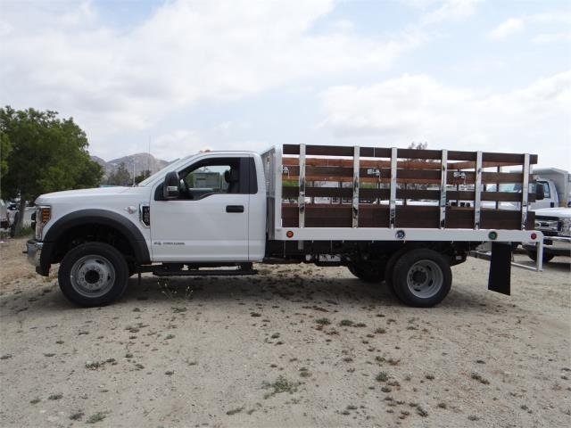 2018 F-450 Regular Cab DRW,  Scelzi Stake Bed #FJ2317 - photo 3