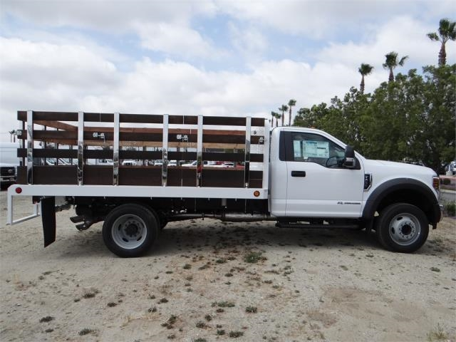 2018 F-450 Regular Cab DRW,  Scelzi Stake Bed #FJ2317 - photo 5
