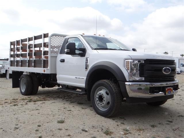 2018 F-450 Regular Cab DRW,  Scelzi Stake Bed #FJ2317 - photo 6