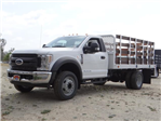 2018 F-450 Regular Cab DRW, Scelzi Stake Bed #FJ2317 - photo 1