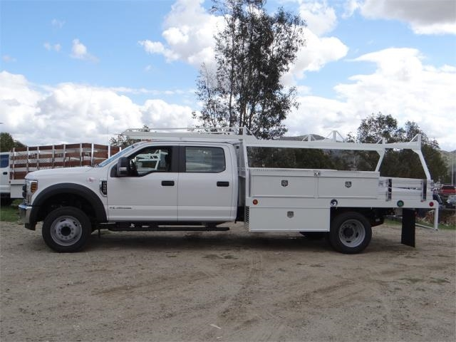 2018 F-550 Crew Cab DRW, Scelzi Contractor Body #FJ2339 - photo 3