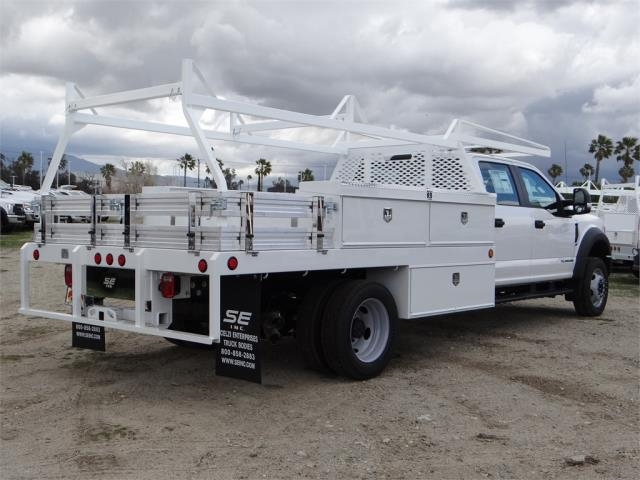 2018 F-550 Crew Cab DRW, Scelzi Contractor Body #FJ2339 - photo 4