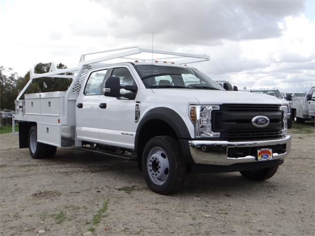 2018 F-550 Crew Cab DRW, Scelzi Contractor Body #FJ2339 - photo 6
