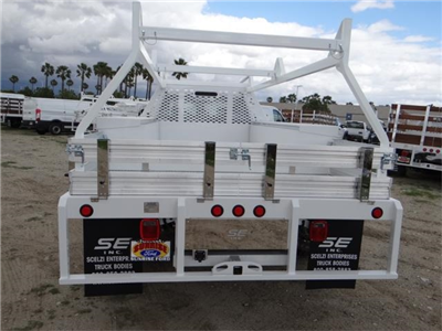 2018 F-550 Crew Cab DRW, Scelzi Contractor Flatbed Contractor Body #FJ2339 - photo 9