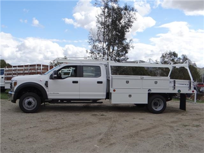 2018 F-550 Crew Cab DRW, Scelzi Contractor Flatbed Contractor Body #FJ2339 - photo 3