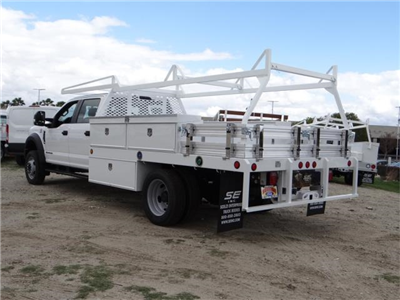 2018 F-550 Crew Cab DRW, Scelzi Contractor Flatbed Contractor Body #FJ2339 - photo 2