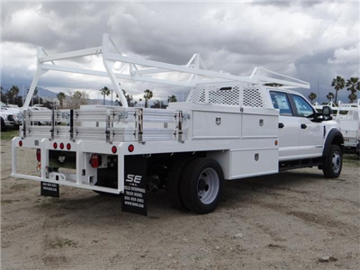 2018 F-550 Crew Cab DRW, Scelzi Contractor Flatbed Contractor Body #FJ2339 - photo 4