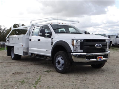 2018 F-550 Crew Cab DRW, Scelzi Contractor Flatbed Contractor Body #FJ2339 - photo 6