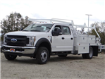 2018 F-550 Crew Cab DRW, Scelzi Contractor Body #FJ2339 - photo 1
