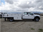 2018 F-550 Crew Cab DRW, Scelzi Contractor Flatbed Contractor Body #FJ2339 - photo 5