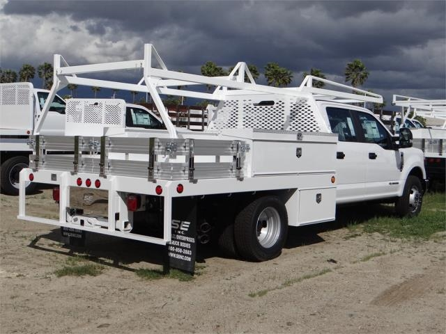 2018 F-350 Crew Cab DRW 4x2,  Scelzi Contractor Flatbed Contractor Body #FJ2354 - photo 4