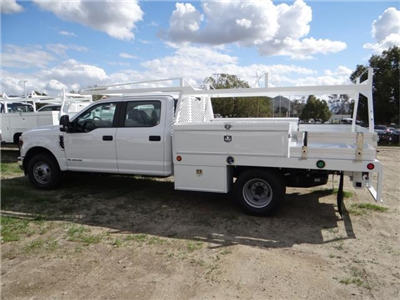 2018 F-350 Crew Cab DRW 4x2,  Scelzi Contractor Flatbed Contractor Body #FJ2354 - photo 3