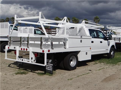 2018 F-350 Crew Cab DRW, Scelzi Contractor Flatbed Contractor Body #FJ2354 - photo 4