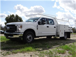 2018 F-350 Crew Cab DRW, Scelzi Contractor Flatbed Contractor Body #FJ2354 - photo 1