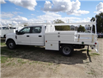 2018 F-350 Crew Cab DRW, Scelzi Contractor Flatbed Contractor Body #FJ2354 - photo 3