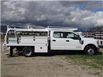 2018 F-350 Crew Cab DRW 4x2,  Scelzi Contractor Flatbed Contractor Body #FJ2354 - photo 5