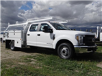 2018 F-350 Crew Cab DRW 4x2,  Scelzi Contractor Flatbed Contractor Body #FJ2354 - photo 6