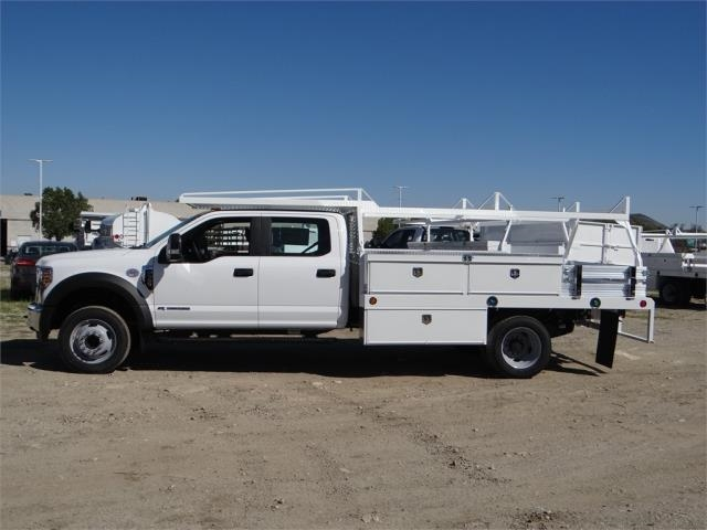 2018 F-550 Crew Cab DRW 4x2,  Scelzi Contractor Flatbed Contractor Body #FJ2469 - photo 3