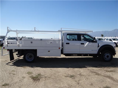 2018 F-550 Crew Cab DRW 4x2,  Scelzi Contractor Flatbed Contractor Body #FJ2469 - photo 5