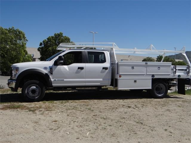 2018 F-550 Crew Cab DRW 4x2,  Scelzi Contractor Body #FJ2537 - photo 3