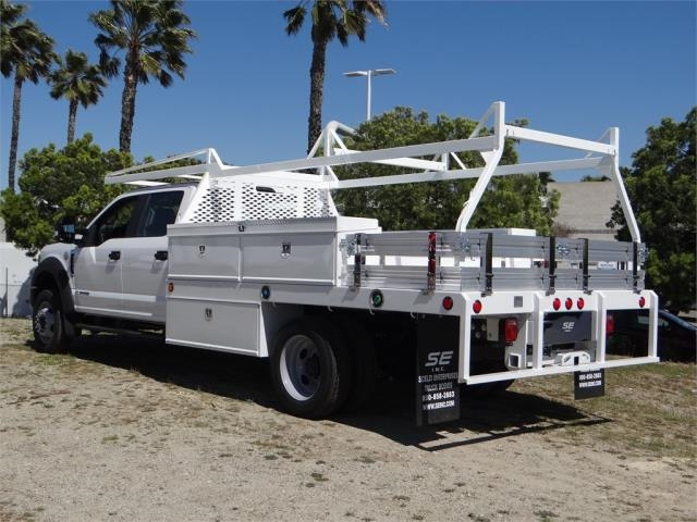 2018 F-550 Crew Cab DRW 4x2,  Scelzi Contractor Body #FJ2537 - photo 2
