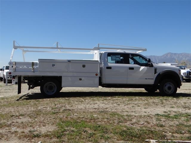 2018 F-550 Crew Cab DRW 4x2,  Scelzi Contractor Body #FJ2537 - photo 5