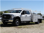2018 F-550 Crew Cab DRW 4x2,  Scelzi Contractor Body #FJ2537 - photo 1