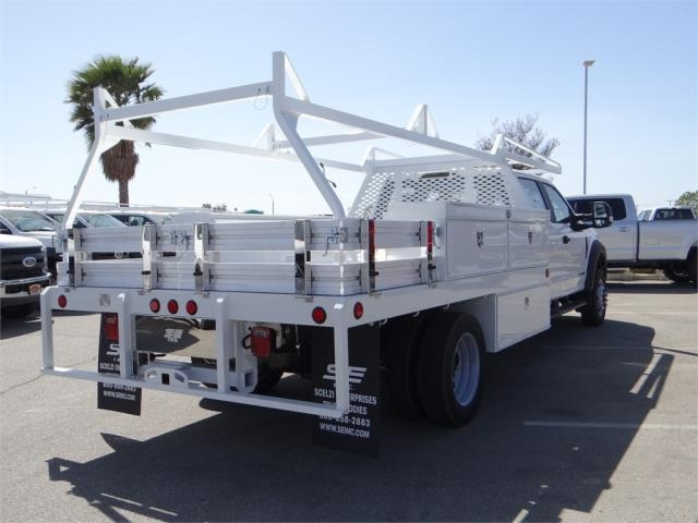 2018 F-550 Crew Cab DRW 4x2,  Scelzi CTFB Contractor Body #FJ2572 - photo 4