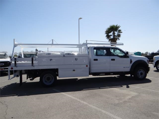 2018 F-550 Crew Cab DRW 4x2,  Scelzi Contractor Body #FJ2572 - photo 5