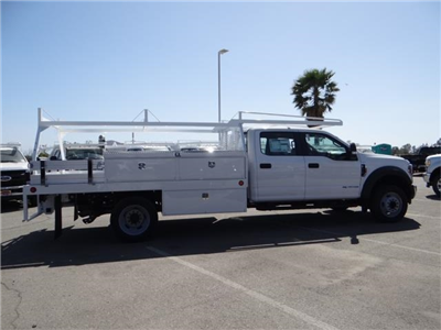 2018 F-550 Crew Cab DRW 4x2,  Scelzi CTFB Contractor Body #FJ2572 - photo 5