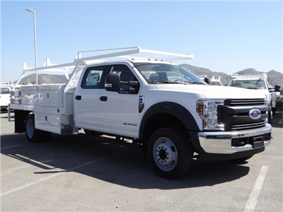 2018 F-550 Crew Cab DRW 4x2,  Scelzi CTFB Contractor Body #FJ2572 - photo 6