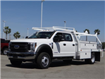 2018 F-550 Crew Cab DRW 4x2,  Scelzi CTFB Contractor Body #FJ2572 - photo 1