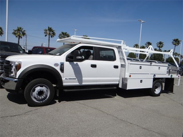 2018 F-550 Crew Cab DRW 4x2,  Scelzi Contractor Body #FJ2625 - photo 3