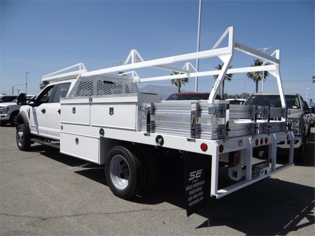2018 F-550 Crew Cab DRW 4x2,  Scelzi CTFB Contractor Body #FJ2625 - photo 2