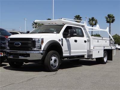 2018 F-550 Crew Cab DRW 4x2,  Scelzi CTFB Contractor Body #FJ2625 - photo 1