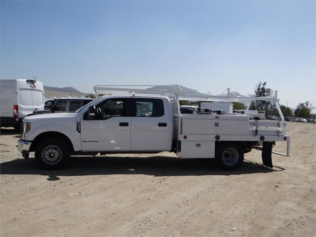 2018 F-350 Crew Cab DRW 4x2,  Scelzi Contractor Flatbed Contractor Body #FJ2626 - photo 3