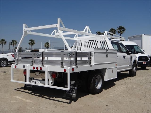 2018 F-350 Crew Cab DRW 4x2,  Scelzi Contractor Flatbed Contractor Body #FJ2626 - photo 4