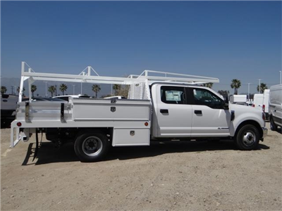 2018 F-350 Crew Cab DRW 4x2,  Scelzi Contractor Flatbed Contractor Body #FJ2626 - photo 5