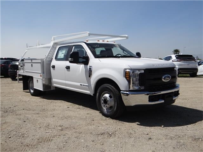 2018 F-350 Crew Cab DRW 4x2,  Scelzi Contractor Flatbed Contractor Body #FJ2626 - photo 6