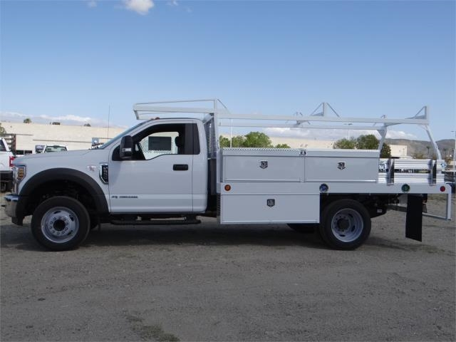 2018 F-550 Regular Cab DRW 4x2,  Scelzi Contractor Body #FJ2643 - photo 3