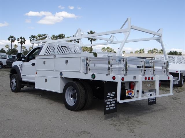 2018 F-550 Regular Cab DRW 4x2,  Scelzi Contractor Body #FJ2643 - photo 2