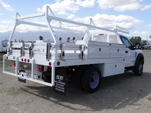 2018 F-550 Regular Cab DRW 4x2,  Scelzi Contractor Body #FJ2643 - photo 4