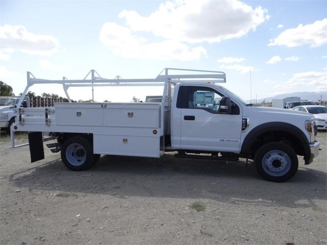 2018 F-550 Regular Cab DRW 4x2,  Scelzi Contractor Body #FJ2643 - photo 5