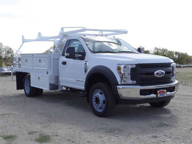 2018 F-550 Regular Cab DRW 4x2,  Scelzi Contractor Body #FJ2643 - photo 6