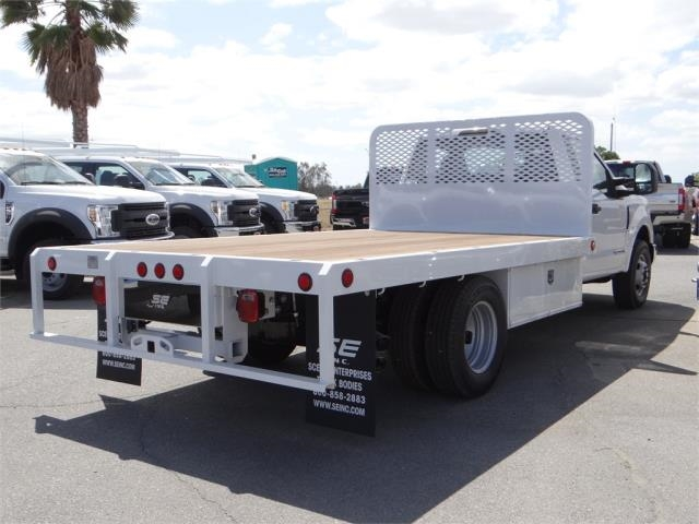 2018 F-350 Regular Cab DRW 4x2,  Scelzi Flatbed #FJ2684 - photo 4