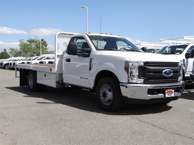 2018 F-350 Regular Cab DRW 4x2,  Scelzi Flatbed #FJ2684 - photo 6