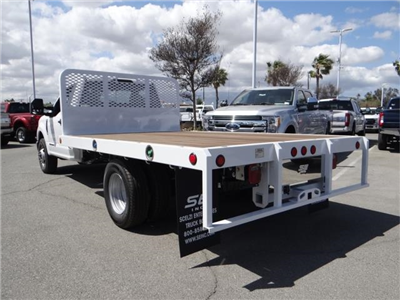 2018 F-350 Regular Cab DRW 4x2,  Scelzi WFB Flatbed #FJ2684 - photo 2