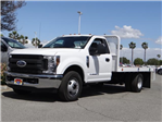 2018 F-350 Regular Cab DRW 4x2,  Scelzi WFB Flatbed #FJ2684 - photo 1