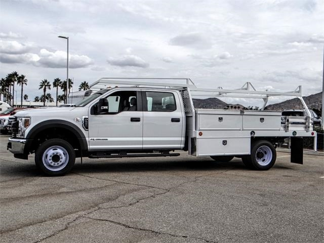 2018 F-550 Crew Cab DRW 4x2,  Scelzi Contractor Body #FJ2852 - photo 3