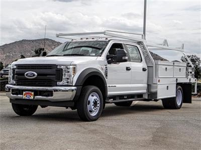 2018 F-550 Crew Cab DRW 4x2,  Scelzi CTFB Contractor Body #FJ2852 - photo 1